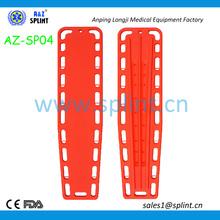 plastic spinal backboard
