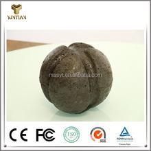 High density slag block ball ordered in converter