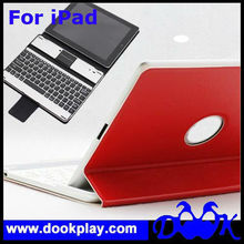 Newest Wireless Bluetooth Cover for iPad Aluminum case with keyboard