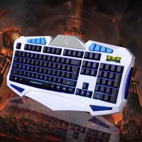 3-Color Switch Backlight USB Wired Feel Gaming PC/Laptop Keyboard Teclado Gamer Computer Peripherals
