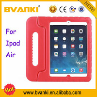 Waterproof Shockproof Protective Handle Stand Cover EVA Case For iPad Air Leather Cooling Smart Case For iPad Air Case