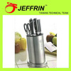 Popular new arrival fine edge forge handle cutlery knife set