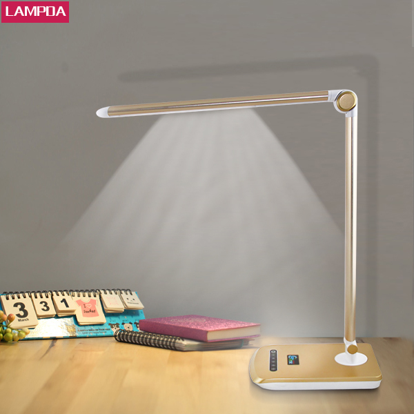 style table lamps rechargeable touch battery powered led