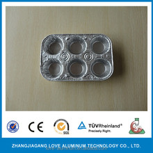 aluminum cooking foil tray for muffin