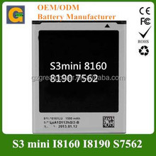 gb/t18287-2000 cell phone battery for samsung galaxy s3 mini