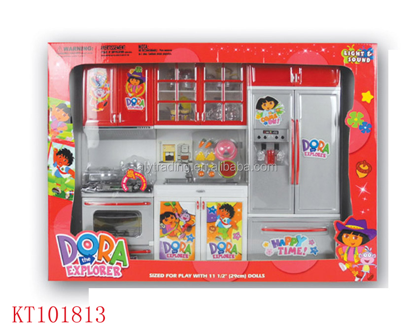 Farah toys hot sale new design kids kitchen set toy double for Kids kitchen set sale