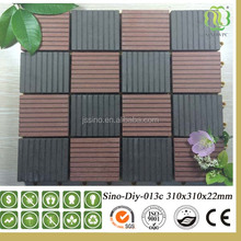 WPC Outside Floor Wood Plastic Composite/Eco-friendly Decorate Decking/Diy Wpc Flooring / Decking /Tiles