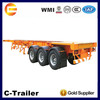 Good quality used skeleton container semi-trailer for sale in Philippines