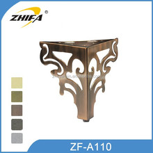 ZF-A110 Hot sale diy furniture legs chair leg tips daybeds feet