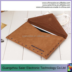 case cover old Envolope messenger bag leather for ipad mini case for ipad2/3/4/5