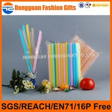 Various types of eco-friendly pp plastic art straw for drinking, custom art plastic drinking straw, color printed plastic straw