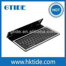 10.1 inch midi bluetooth keyboard with build-in stand for tablet