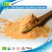 2015 New Superfood Certified Spray Dried Organic Goji Berry Powder (100 grams of samples free of charge)