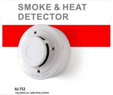 Alarm Output or Relay Output Conventional Combined smoke and heat detector