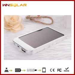 New Coming portable 2600mah usb power bank mini solar charger With Real Capacity
