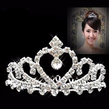 Fashion crystal wholesale pageant crowns and tiaras