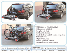 TB-009G3 New Design Fashion Low Price Hot Sale Bicycle Carrier