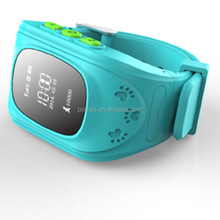 hidden wrist watch gps tracking device for kids or children / child gps tracker bracelet