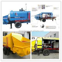 Hot sale DHBT80 concrete pump with volvo engine,80m3/h can pump 250m