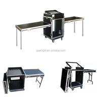 16u shockproof Laptop Flight Case with Twin Table Flight Case