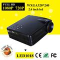 Promoción del precio bajo del proyector universal de control remoto proyector mini proyector del hd 1080 p venta