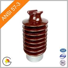 Station Post ANSI 57-3 Porcelain Insulator 45kV line Post Station Insulator