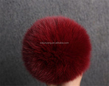 monster keychain/fur pompon/fox ears and tail