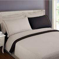 Plain dyeing cotton quilt bedspread set