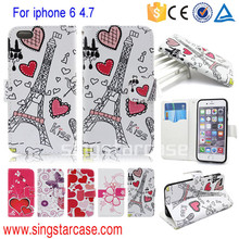 For iPhone Phone Case, For iPhone Case, PU Leather Phone Case For iPhone 6 Case