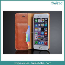 Latest newest design new arrival leather case for apple iphone 6,for genuine leather iphone 6 case