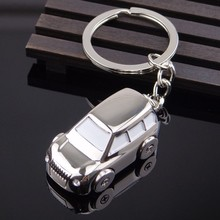 Hot Sell Luxury Gifts 3D Mini Moved Wheels Car Shape Keychain for business gifts