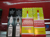 candle factory in china/Angola Market 450g Velas Brancas/ candle made in china