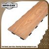 0.55mm wear lay laminated plastic click flooring