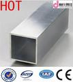 tubo quadrado de alumínio