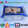 customized inflatable soccer free kick games,inflatable football goal, inflatable soccer goal