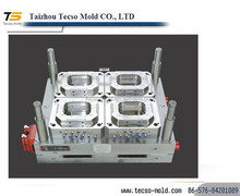 Plastic thin wall food container mould maker ,Tecso mould