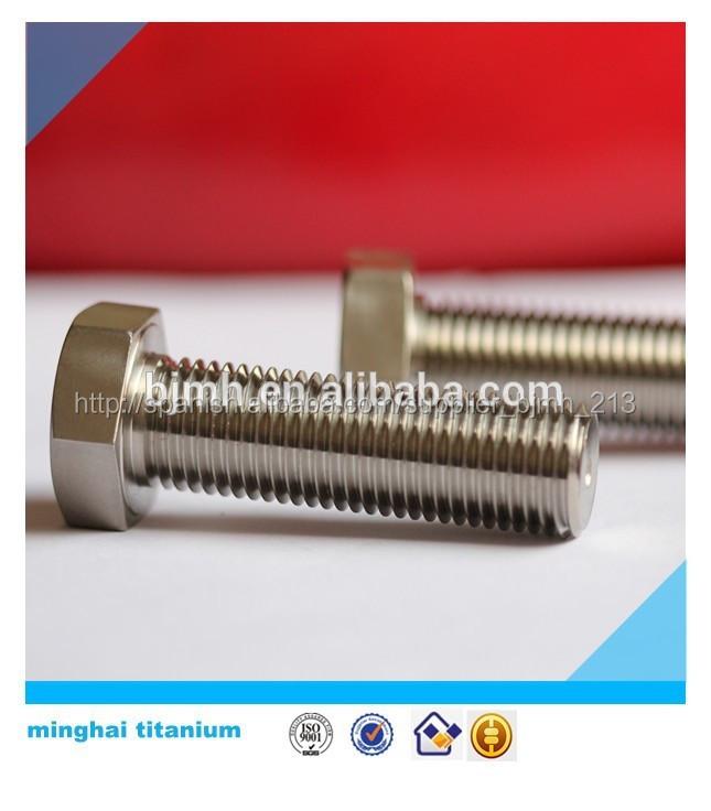 Titanio perno hexagonal 5/16-24 1.25'' gr5 unf