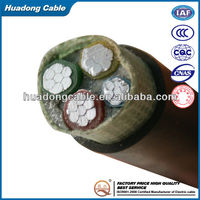 Fire resistant cat5e shielded twisted 400 pair cable