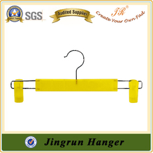 Yellow Pants Hanger Trousers Clips Hanger