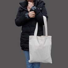 Factory competitive price blank cotton tote bags