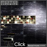 Black shiny floor tile cheap price made in Foshan