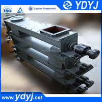 Large capacity flexible screw conveyor used in grain, oilseed, palm oilcake