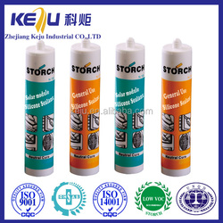 Storch acetic cure General purpose low prices netural fast dry silicone sealant for glass