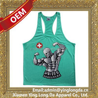 Quality hotsell cheap stringer vest tank top
