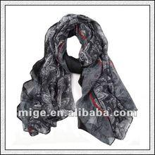 2012 Fashion Viscose Scarf (GB0262)