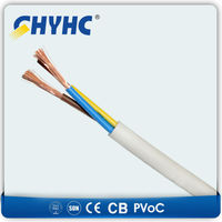 YY Control Flexible Cable 5x0,75 mm2, 4 black conductors, 1 conductor yellow/green Outside material PVC grey. Price $0.47/meter
