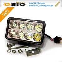 4 inch Square LED Fog Light Auto Sealed Beam headlight 8V-36V 24W