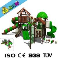 Swing and slide playground