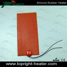 Customized length silicone rubber heating strip