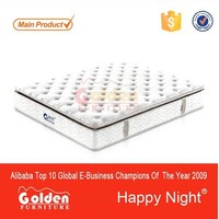 CIFF Cheap price rolled up queen size cotton mattress S8343